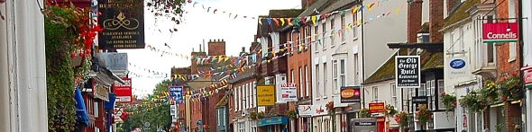 Stony Stratford, a place to stay in the UK
